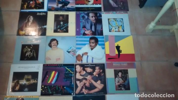 Discos de vinilo: Lote de 20 vinilos Jazz Fusion Funk Rock - Foto 3 - 160306078