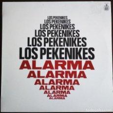 Discos de vinilo: LOS PEKENIKES... ¡ALARMA!.(HISPAVOX 1983) SPAIN.. Lote 160307374