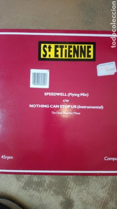 ST. ETIENNE –SPEEDWELL (FLYING MIX) C/W NOTHING CAN STOP US (INSTRUMENTAL) - THE DEAN THATCHER MI (Música - Discos de Vinilo - Maxi Singles - Pop - Rock Extranjero de los 90 a la actualidad)