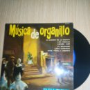 Discos de vinilo: MÚSICA DE ORGANILLO. Lote 160311705