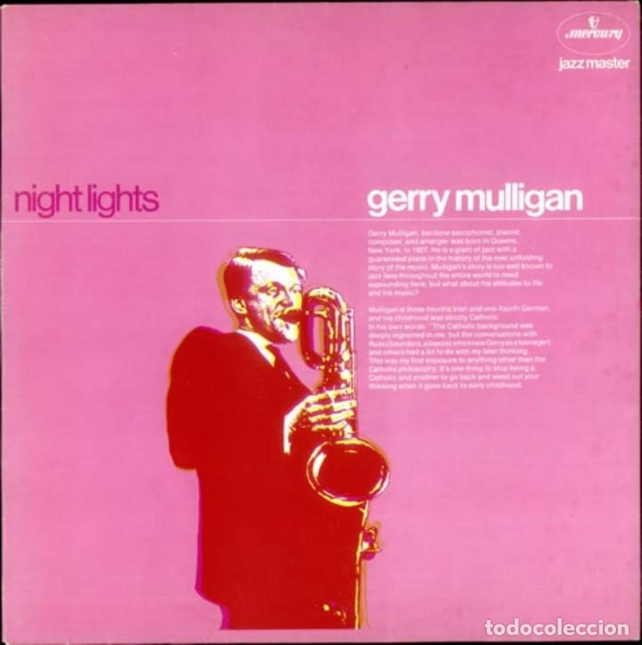 GERRY MULLIGAN. NIGHT LIGHTS (Música - Discos de Vinilo - EPs - Jazz, Jazz-Rock, Blues y R&B)
