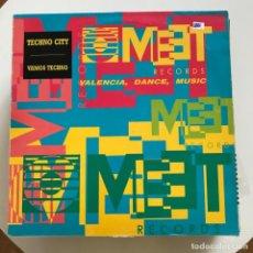 Discos de vinilo: TECHNO CITY - VAMOS TECHNO - 12'' MAXISINGLE BOY 1991. Lote 160338982