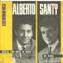 Discos de vinilo: ALBERTO: ORACIÓN PAR ANTES DE NACER / SANTY: MIL HORAS. Lote 160343338