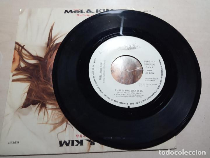 MEL & KIM.THAT'S THE WAY IT IS.1988. (Música - Discos - Singles Vinilo - Techno, Trance y House)