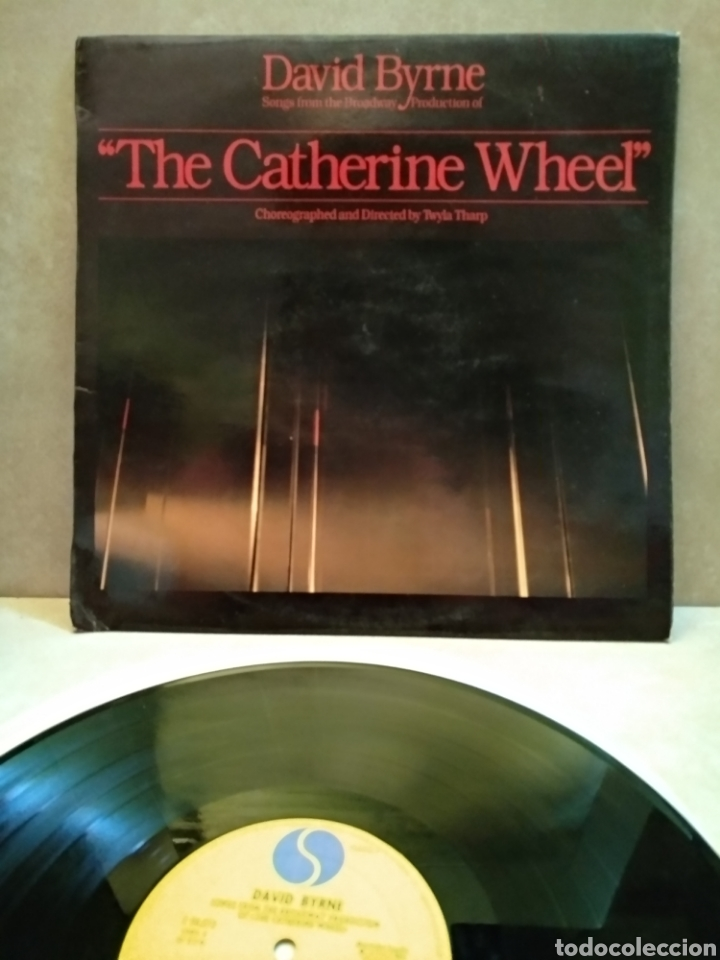 DAVID BYRNE THE CATHERINR WHEEL 1982 (Música - Discos de Vinilo - Singles - Pop - Rock Extranjero de los 80)