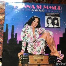 Discos de vinilo: DONNA SUMMER. ON THE RADIO. Lote 160368333