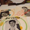 Discos de vinilo: 3 EP'S DE ANTONIO MOLINA : VENGA LLUVIA + TIENTOS DEL AY AY AY + QUE PASA Y MIRA . Lote 160376894