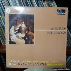 Discos de vinilo: ALEGRES NAVIDADES. Lote 160382402