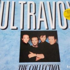 Discos de vinilo: ULTRAVOX THE COLLECTION LP SPAIN INSERTO. Lote 187465670