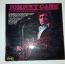 Discos de vinilo: JOHNNY CASH LP I'M SO LONESOME I COUD CRY HALLMARK 1970 UK. Lote 160383002