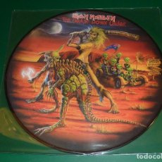 Discos de vinilo: IRON MAIDEN THE BEAST DOWN UNDER PICTURE DISC. Lote 160391934