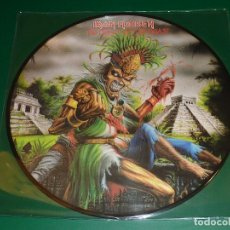 Discos de vinilo: IRON MAIDEN THE HEART OF THE BEAST PICTURE DISC. Lote 160392486