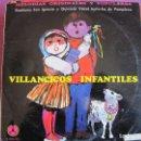 Discos de vinilo: LP NAVIDAD - VILLANCICOS INFANTILES - ESCOLANIA SAN IGNACIO Y QUINTETO VOCAL IRUÑA-KO, PAMPLONA. Lote 160393846