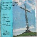 Discos de vinilo: AGRUPACIÓN CORAL MANUEL IRADIER DE VITORIA: CELEDÓN / ZALDIARAN / EN EL MONTE GORBEA / ROMERÍA DE.... Lote 160393934