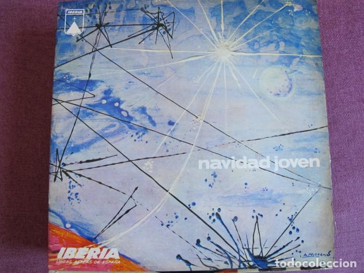LP NAVIDAD - NAVIDAD JOVEN - VARIOS (VER FOTO ADJUNTA)(PROMOCIONAL IBERIA, REGSON 1969) (Música - Discos - LP Vinilo - Otros estilos)
