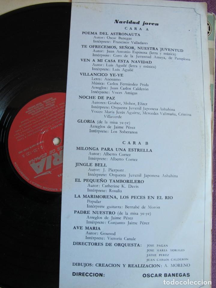 Discos de vinilo: LP NAVIDAD - NAVIDAD JOVEN - VARIOS (VER FOTO ADJUNTA)(PROMOCIONAL IBERIA, REGSON 1969) - Foto 2 - 160395290