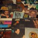 Discos de vinilo: 20 SINGLES Y EP'S DE FRANK SINATRA ( EN TOTAL, 62 CANCIONES ). Lote 160395326