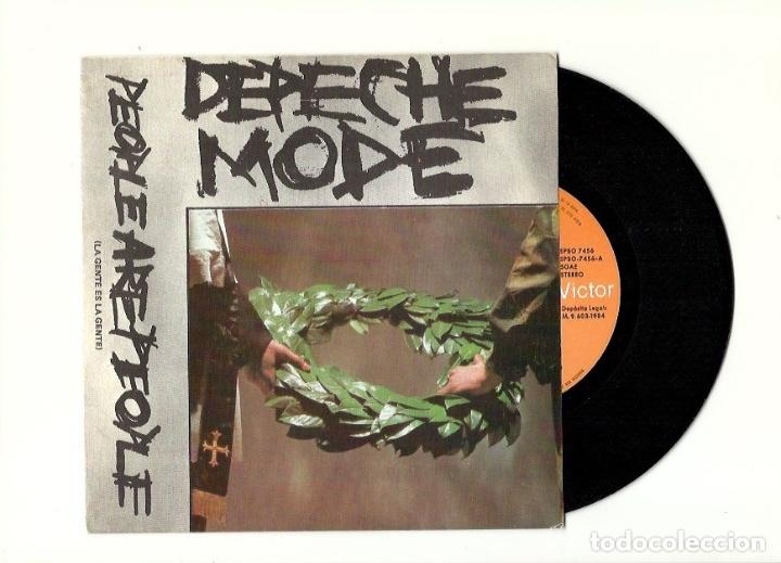Discos de vinilo: Depeche Mode. The meaning of love. People are people. Leave in silence. See you (4 vinilo singles) - Foto 4 - 160403334