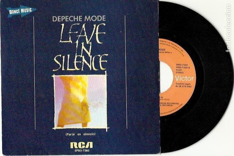 Discos de vinilo: Depeche Mode. The meaning of love. People are people. Leave in silence. See you (4 vinilo singles) - Foto 5 - 160403334