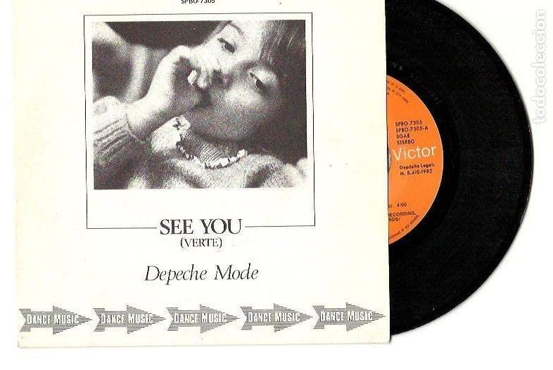 Discos de vinilo: Depeche Mode. The meaning of love. People are people. Leave in silence. See you (4 vinilo singles) - Foto 6 - 160403334