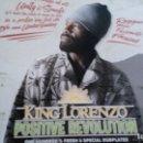 Discos de vinilo: KING LORENZO POSITIVE REVOLUTION LP ¡¡NUEVO¡¡. Lote 160404530