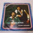 Discos de vinilo: THE ANDERSON BROTHERS - BLUE EYES (OJOS AZULES) - SINGLE PROMO DJM RECORDS - ESPAÑA 1978T SG VSD09. Lote 160405490