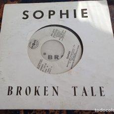 Dischi in vinile: SOPHIE.BROKEN TALE.METROPOL RECORD.1987.. Lote 160417442