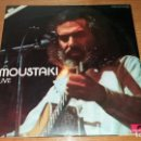 Discos de vinilo: L.P. / VINILO - GEORGE MOUSTAKI - LIVE - 2 DISCOS - SEÑALES NORMALES DE USO. Lote 160419742