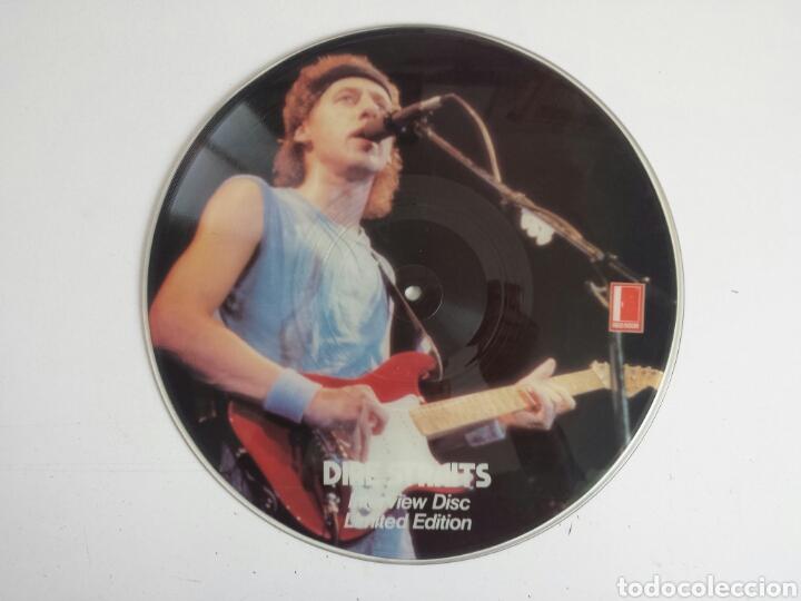 DIRE STRAITS. INTERVIEW PICTURE DISC. LP (Música - Discos - LP Vinilo - Pop - Rock - New Wave Extranjero de los 80)