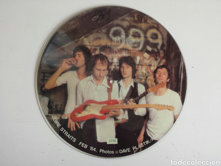 Discos de vinilo: Dire straits. Interview picture disc. LP - Foto 2 - 160424194