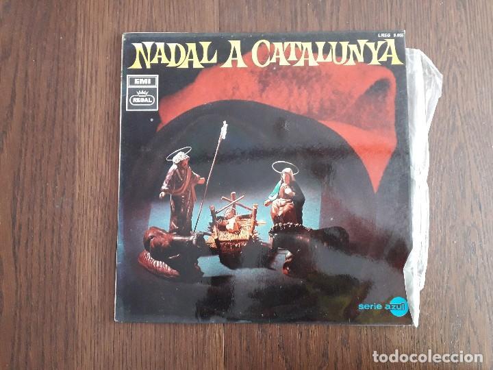 DISCO VINILO LP NADAL A CATALUNYA, VILLANCICOS POPULARES DE CATALUNYA, LREG 8.055 AÑO 1968 (Música - Discos de Vinilo - EPs - Otros estilos)