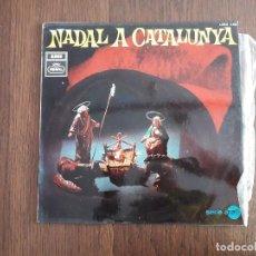 Discos de vinilo: DISCO VINILO LP NADAL A CATALUNYA, VILLANCICOS POPULARES DE CATALUNYA, LREG 8.055 AÑO 1968. Lote 160436470