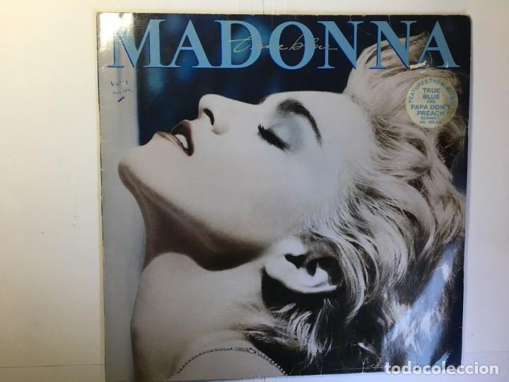 DISCO LP MADONNA - TRUE BLUE (Música - Discos - LP Vinilo - Pop - Rock - New Wave Extranjero de los 80)