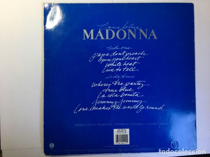 Discos de vinilo: DISCO LP MADONNA - TRUE BLUE - Foto 2 - 160439594