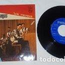 Discos de vinilo: SINGLE DE LOS RELÁMPAGOS, CON EL PASO DE LOS URALES Y LOS VIKINGOS, DE 1967. Lote 160441750