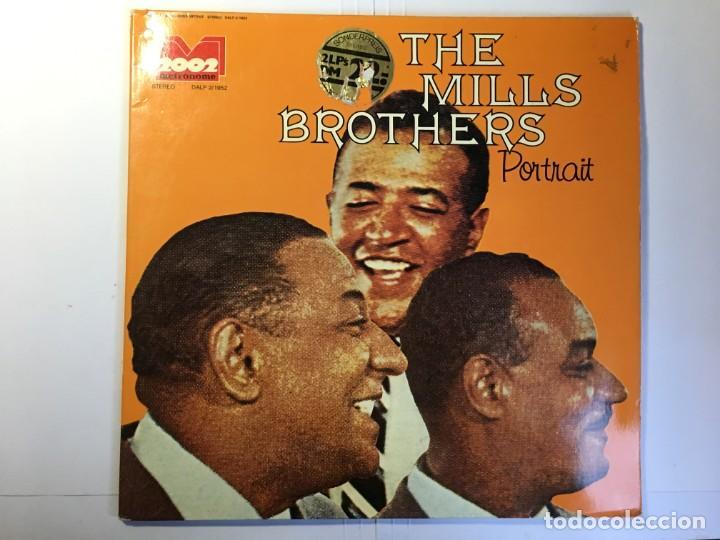 DISCO LP THE MILLS BROTHERS - PORTRAIT (Música - Discos - LP Vinilo - Jazz, Jazz-Rock, Blues y R&B)