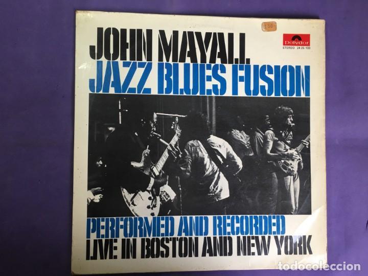 DISCO LP JHON MAYALL JAZZ BLUES FUSION- LIVE IN BOSTON AND NEW YORK (Música - Discos - LP Vinilo - Jazz, Jazz-Rock, Blues y R&B)