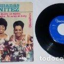 Discos de vinilo: EP DE LAS HERMANAS BENÍTEZ, TU SERÁS MI BABY. Lote 160443834