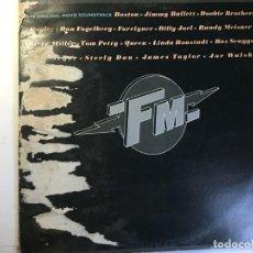 Discos de vinilo: DISCO DOBLE LP BANDA SONORA FM - QUEEN BOSTON S. Lote 160444330