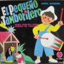 Discos de vinilo: DOBLE QUINTETO MIXTO IRUÑA´KO DE PAMPLONA: EL PEQUEÑO TAMBORILERO / ANUNCIACIÓN DEL ÁNGEL + 3. Lote 160444614