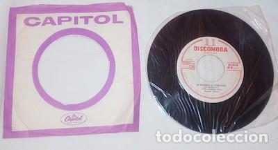 SINGLE DISCOMODA DE PEPE Y AURORA CON EL MARIACHI AGUILAR (Música - Discos - Singles Vinilo - Grupos y Solistas de latinoamérica)
