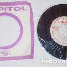 Discos de vinilo: SINGLE DISCOMODA DE PEPE Y AURORA CON EL MARIACHI AGUILAR. Lote 160449638