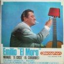 Discos de vinilo: EMILIO EL MORO: MANUEL EL COCO (AL CORDOBÉS) / EN UNA CANASTA / SOY UN HOMBRE DEL CAMPO - POROMPOMPE. Lote 160451150