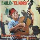 Discos de vinilo: EMILIO EL MORO: TU NOMBRE ME SABE A YERBA / LA HIJA DE JUAN SALMÓN / MARÍA ISABEL / SERRANAS.... Lote 160453658