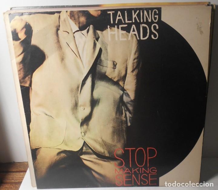 TALKING HEADS STOP MAKING SENSE LP EMI ESPAÑA SPAIN (Música - Discos - LP Vinilo - Pop - Rock - New Wave Extranjero de los 80)