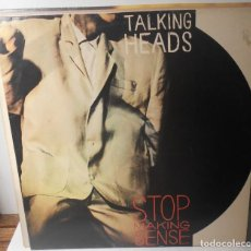 Discos de vinilo: TALKING HEADS STOP MAKING SENSE LP EMI ESPAÑA SPAIN. Lote 160453842