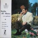 Discos de vinilo: EMILIO EL MORO Y SU GUITARRA: ESPERANZA / VINO DULCE / UN AMIGO MÍO / SERRANAS. Lote 160454278