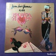 Discos de vinilo: DISCO LP JUAN LUIS GUERRA - BACHATA ROSA. Lote 170852940