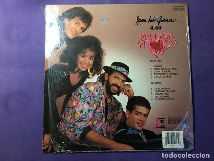 Discos de vinilo: DISCO LP JUAN LUIS GUERRA - BACHATA ROSA - Foto 2 - 170852940