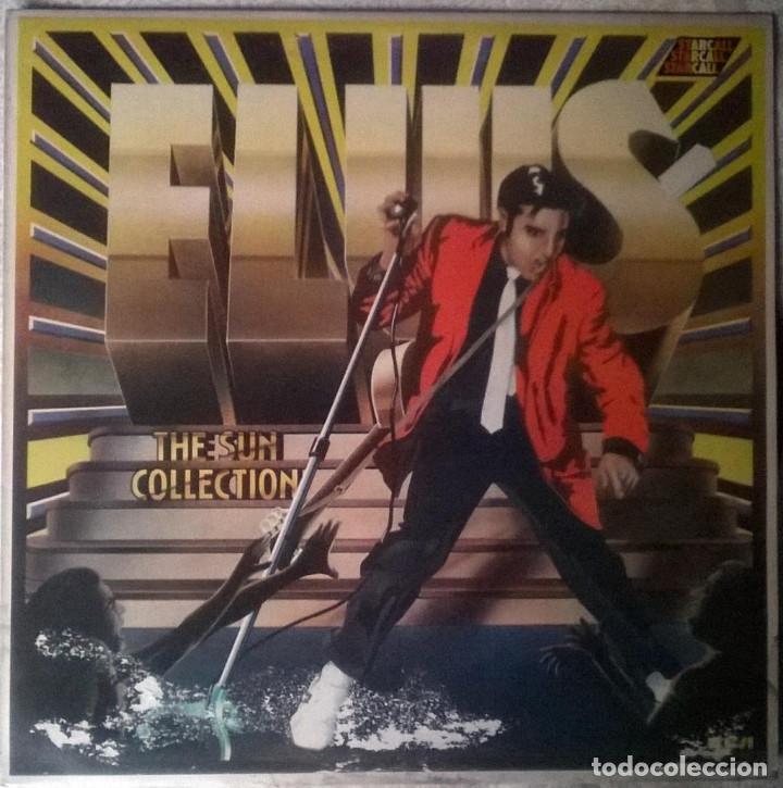 ELVIS PRESLEY. THE SUN COLLECTION, RCA, UK 1975 LP (HY 1001 GREEN LABEL) (Música - Discos - LP Vinilo - Rock & Roll)
